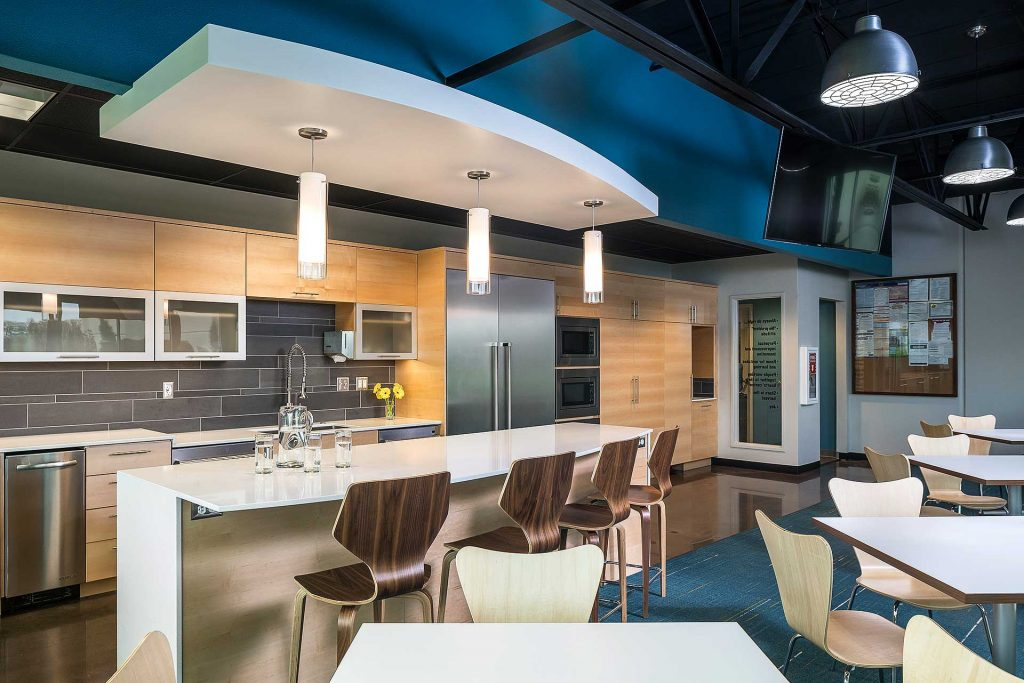 Tec Labs Albany Oregon remodel by Henderer Design Build