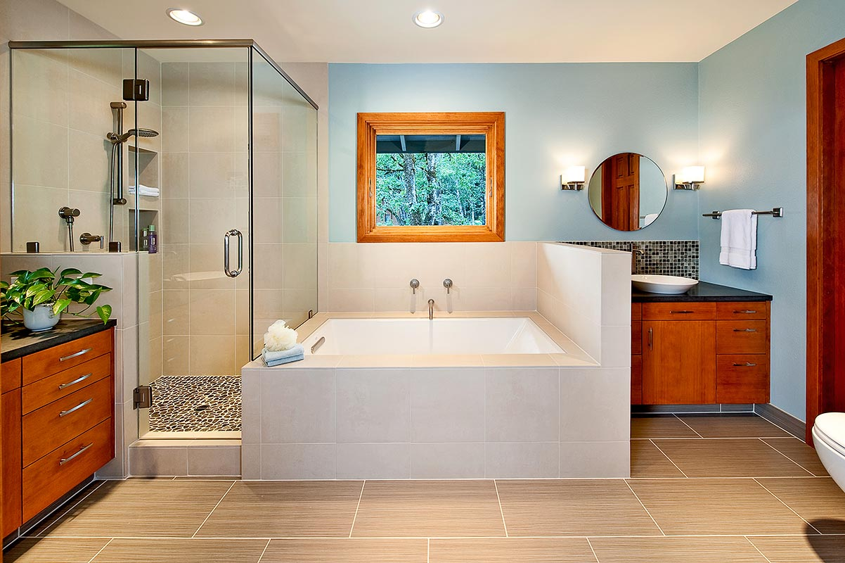 bathroom remodel or - Henderer Design + Build