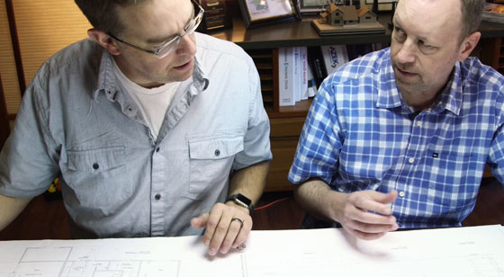 home remodeling team at Henderer Design + Build. We start with a solid structural and floor plan.
