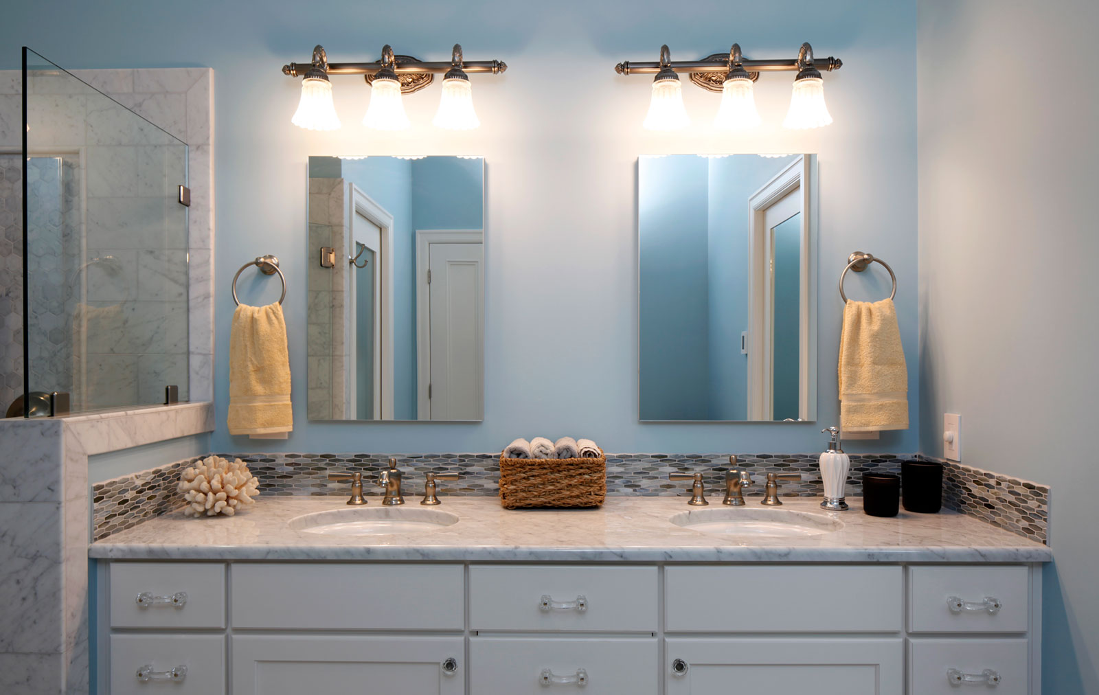historic home bathroom remodel - Henderer Design + Build, Corvallis OR