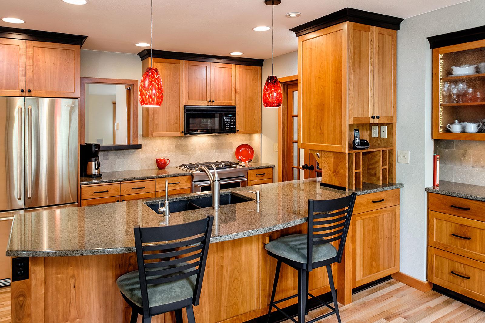 kitchen reno - Henderer Design + Build, Corvallis OR