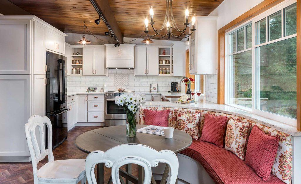 kitchen remodel, open floor plan, Corvallis OR - Henderer Design + Build