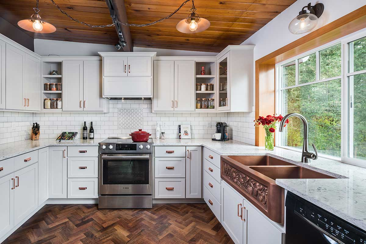 kitchen renovation project -Henderer Design + Build: Kitchen Remodelers in Corvallis OR