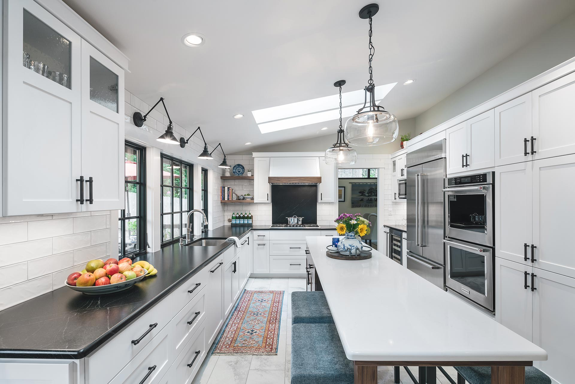 kitchen remodel by Henderer Design + Build. Custom home remodeling in Corvallis OR