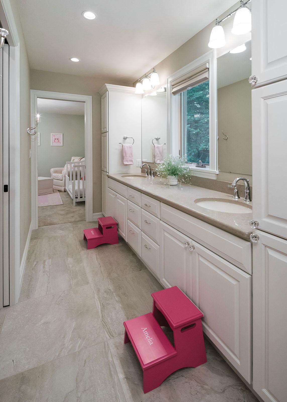 bathroom remodel - Henderer Design + Build, Corvallis OR