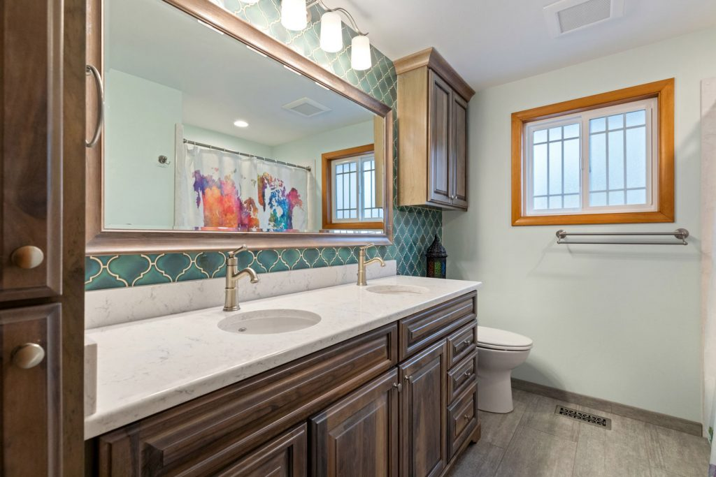 bathroom remodel - Henderer Design + Build, Corvallis OR