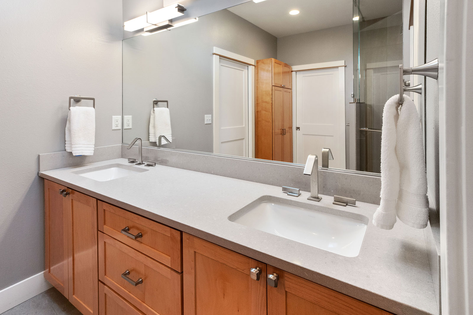 home, bathroom remodel - Henderer Design + Build, Corvallis OR