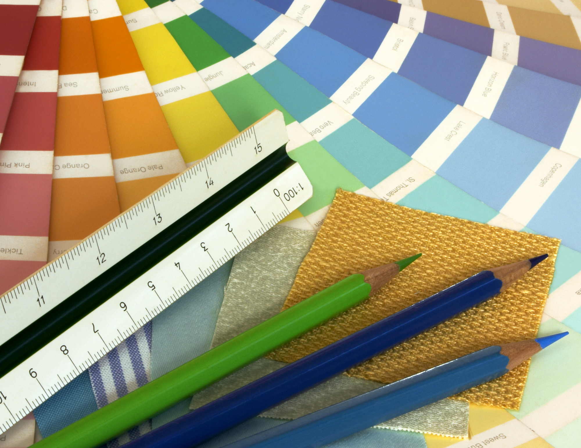 what to expect during design shows paint samples and tools used for design